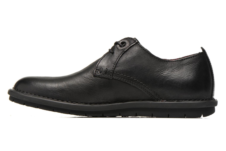 Chaussures à lacets Kickers VIKANG Noir vue face