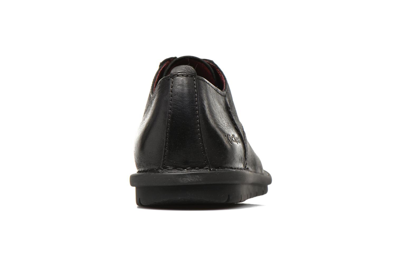 Chaussures à lacets Kickers VIKANG Noir vue droite