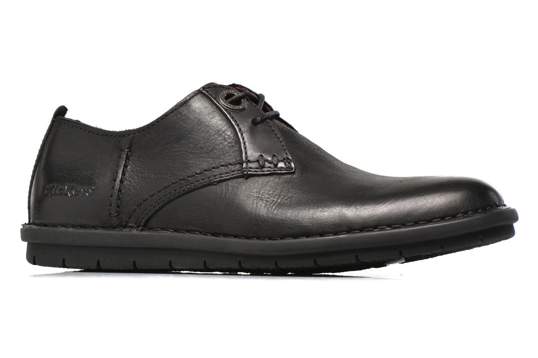 Chaussures à lacets Kickers VIKANG Noir vue derrière