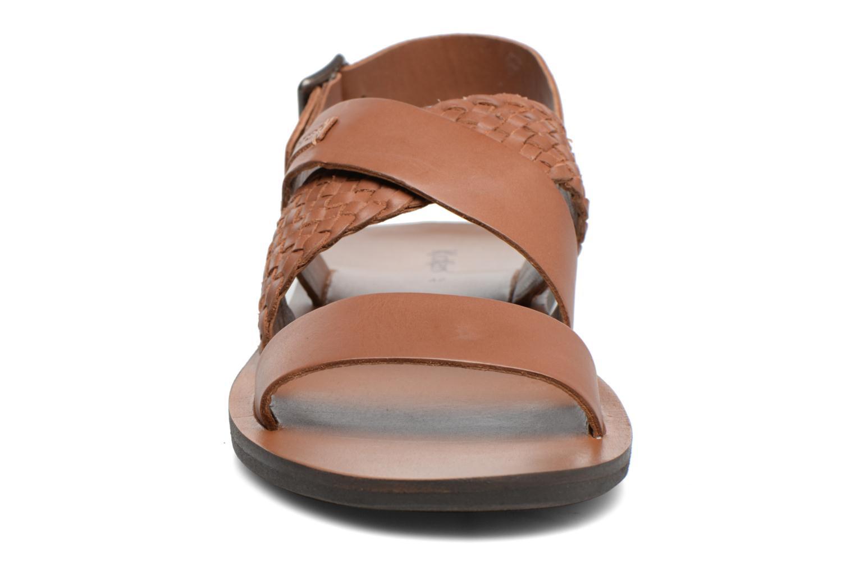 Sandalen Kickers MARVEUS braun schuhe getragen
