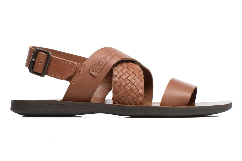 Sandales et nu-pieds Kickers MARVEUS Marron vue derrière