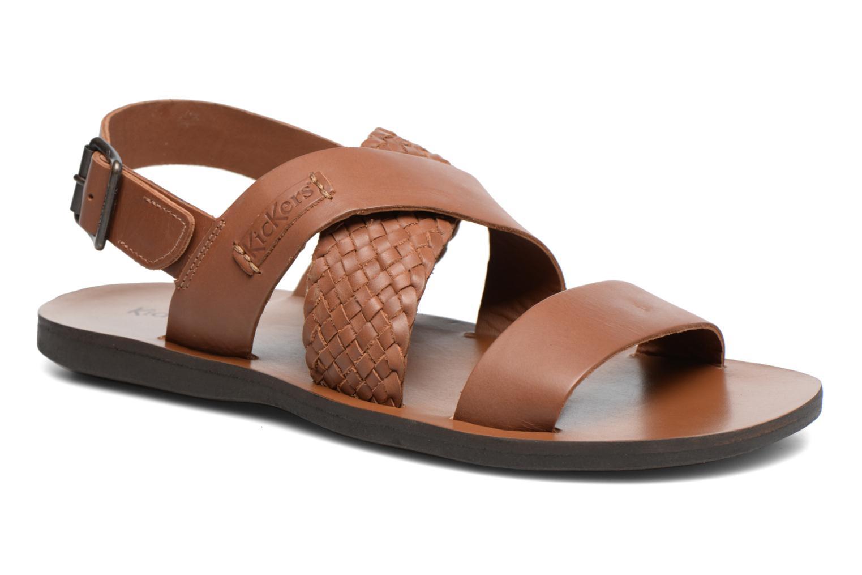 Sandalen Kickers MARVEUS braun detaillierte ansicht/modell