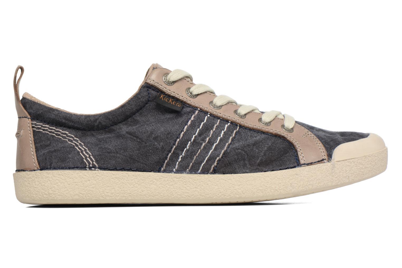 Sneakers Kickers TRIDENT Blå bild från baksidan