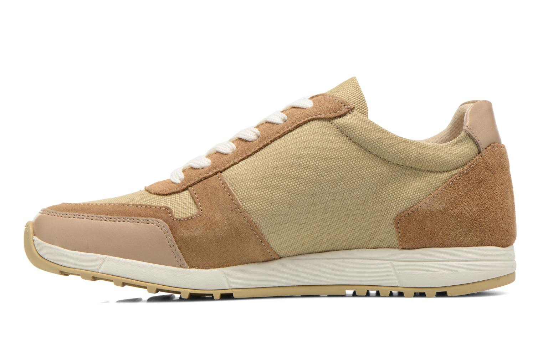Sneaker Kickers NIELO beige ansicht von vorne