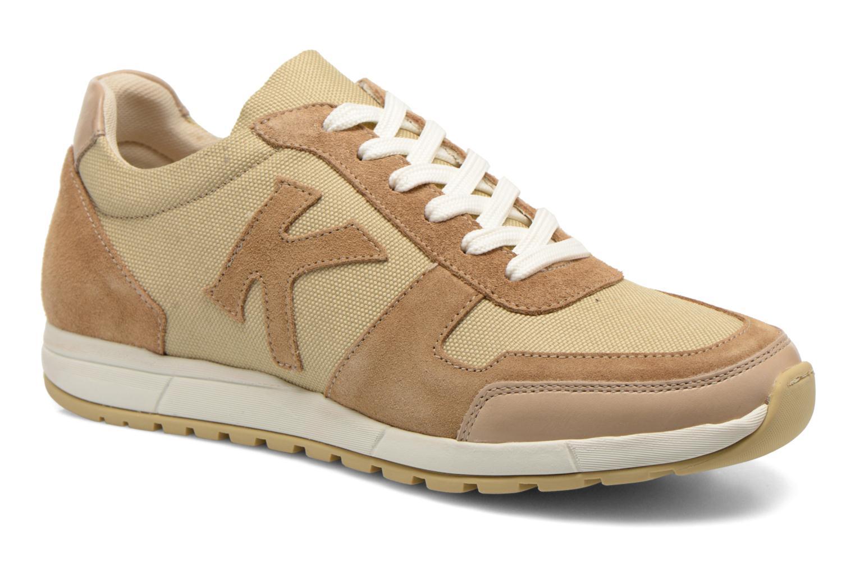 Sneakers Kickers NIELO Beige detaljeret billede af skoene
