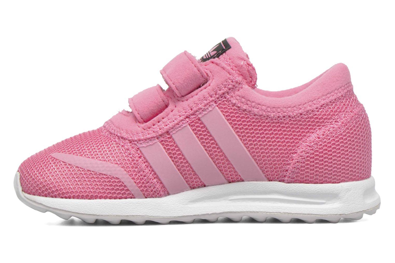 Sneaker Adidas Originals Los Angeles Cf I rosa ansicht von vorne
