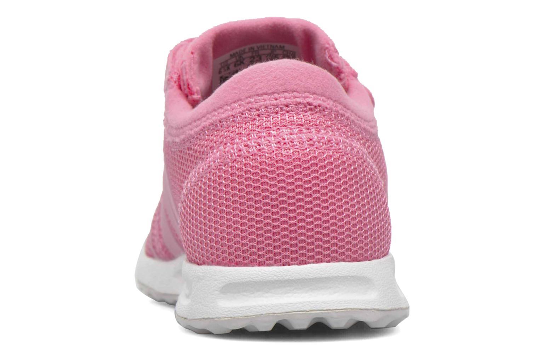 Sneaker Adidas Originals Los Angeles Cf I rosa ansicht von hinten