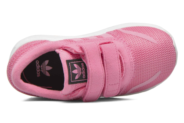 Sneaker Adidas Originals Los Angeles Cf I rosa ansicht von links