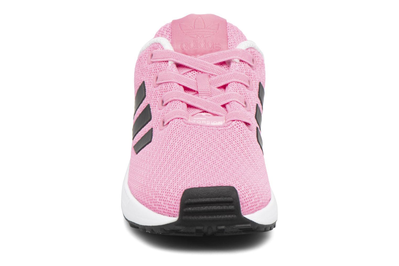 Baskets Adidas Originals Zx Flux El I Rose vue portées chaussures