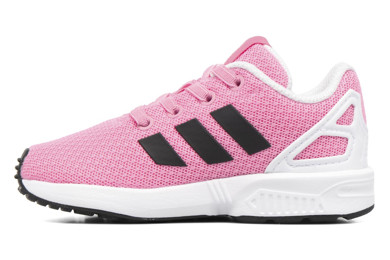 Baskets Adidas Originals Zx Flux El I Rose vue face
