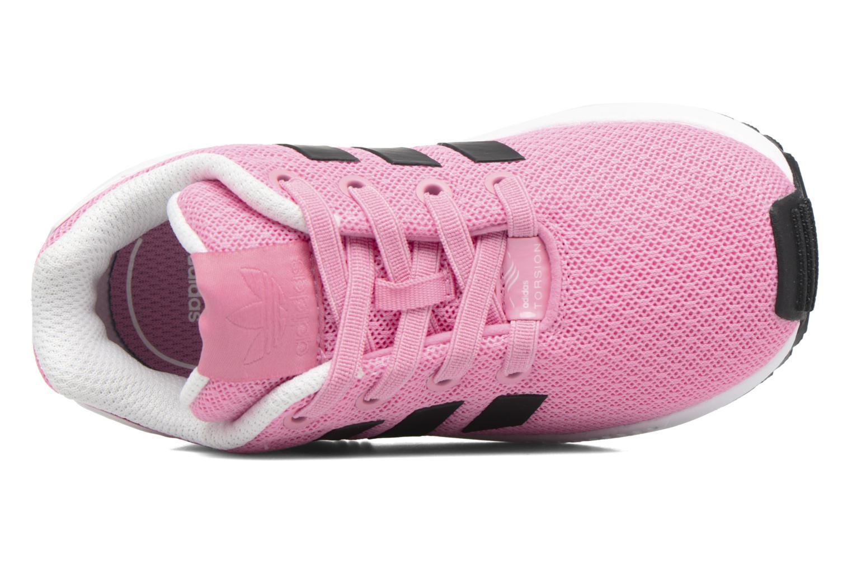 Baskets Adidas Originals Zx Flux El I Rose vue gauche
