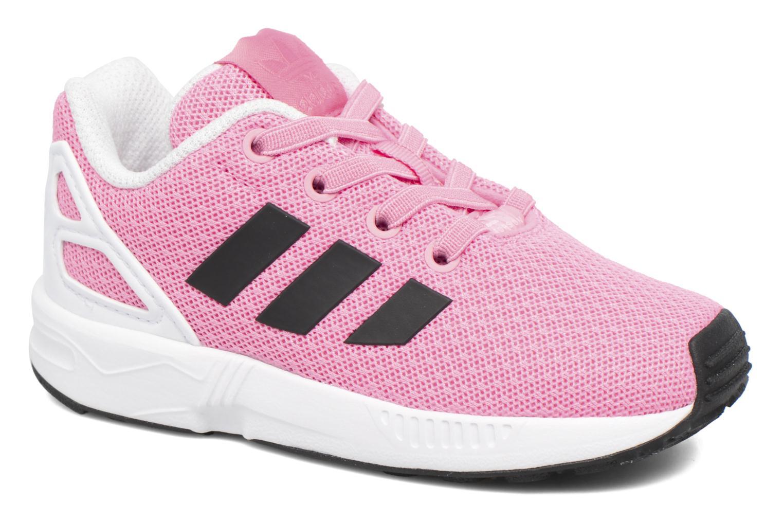 Baskets Adidas Originals Zx Flux El I Rose vue détail/paire