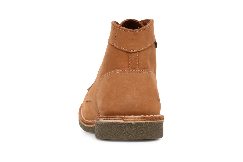Bottines et boots Kickers Kickstoner Marron vue droite