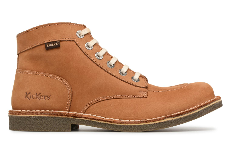 Bottines et boots Kickers Kickstoner Marron vue derrière
