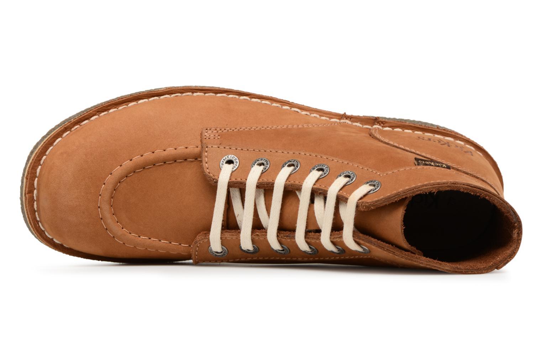 Bottines et boots Kickers Kickstoner Marron vue gauche