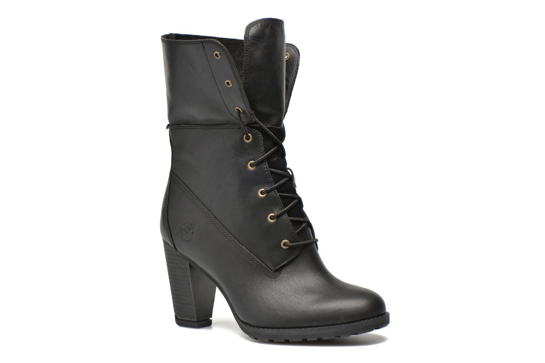 Bottines et boots Timberland Stratham Heigts Noir vue 3/4