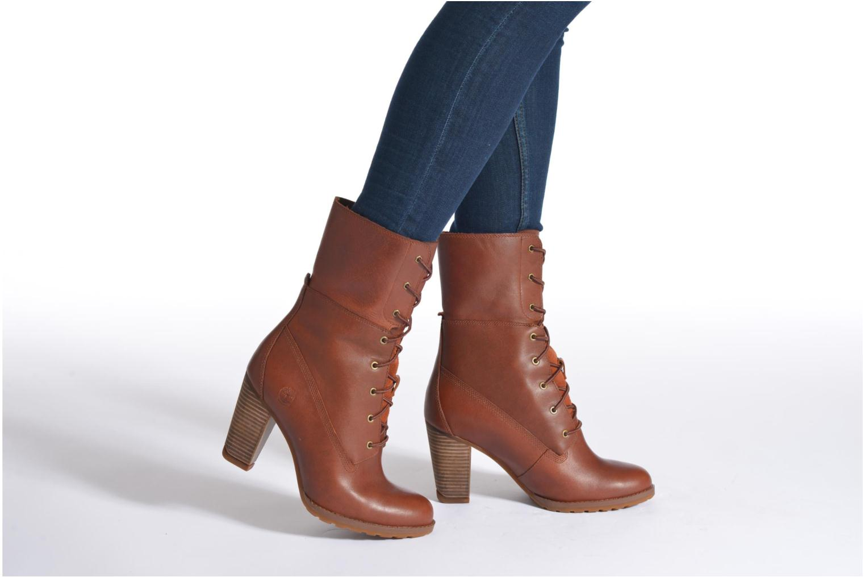 Bottines et boots Timberland Stratham Heigts Noir vue bas / vue portée sac