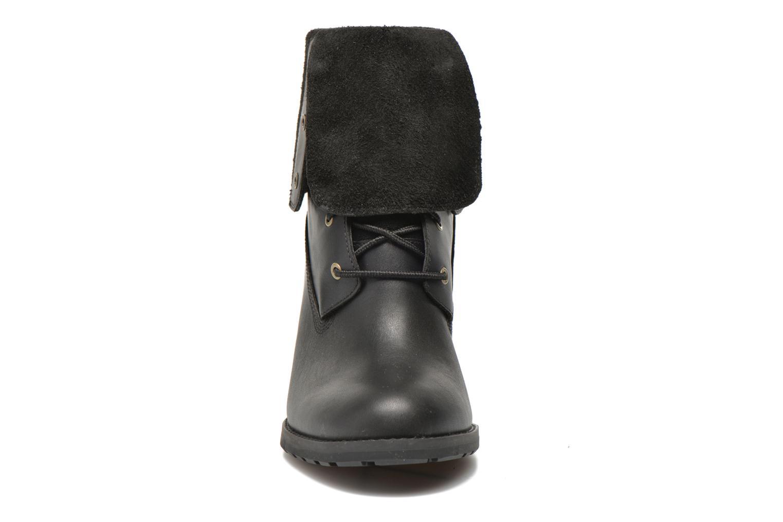 Bottines et boots Timberland Stratham Heigts Noir vue portées chaussures