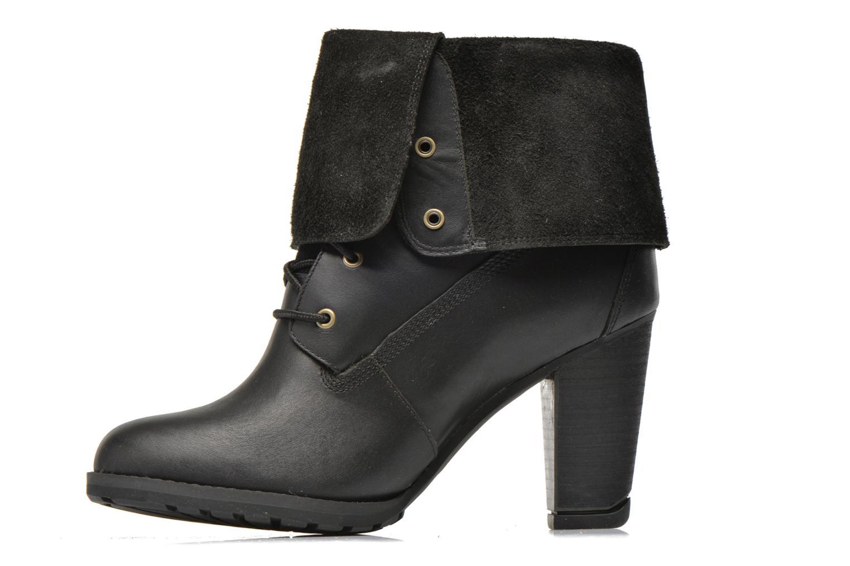Bottines et boots Timberland Stratham Heigts Noir vue face