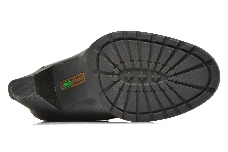 Bottines et boots Timberland Stratham Heigts Noir vue haut
