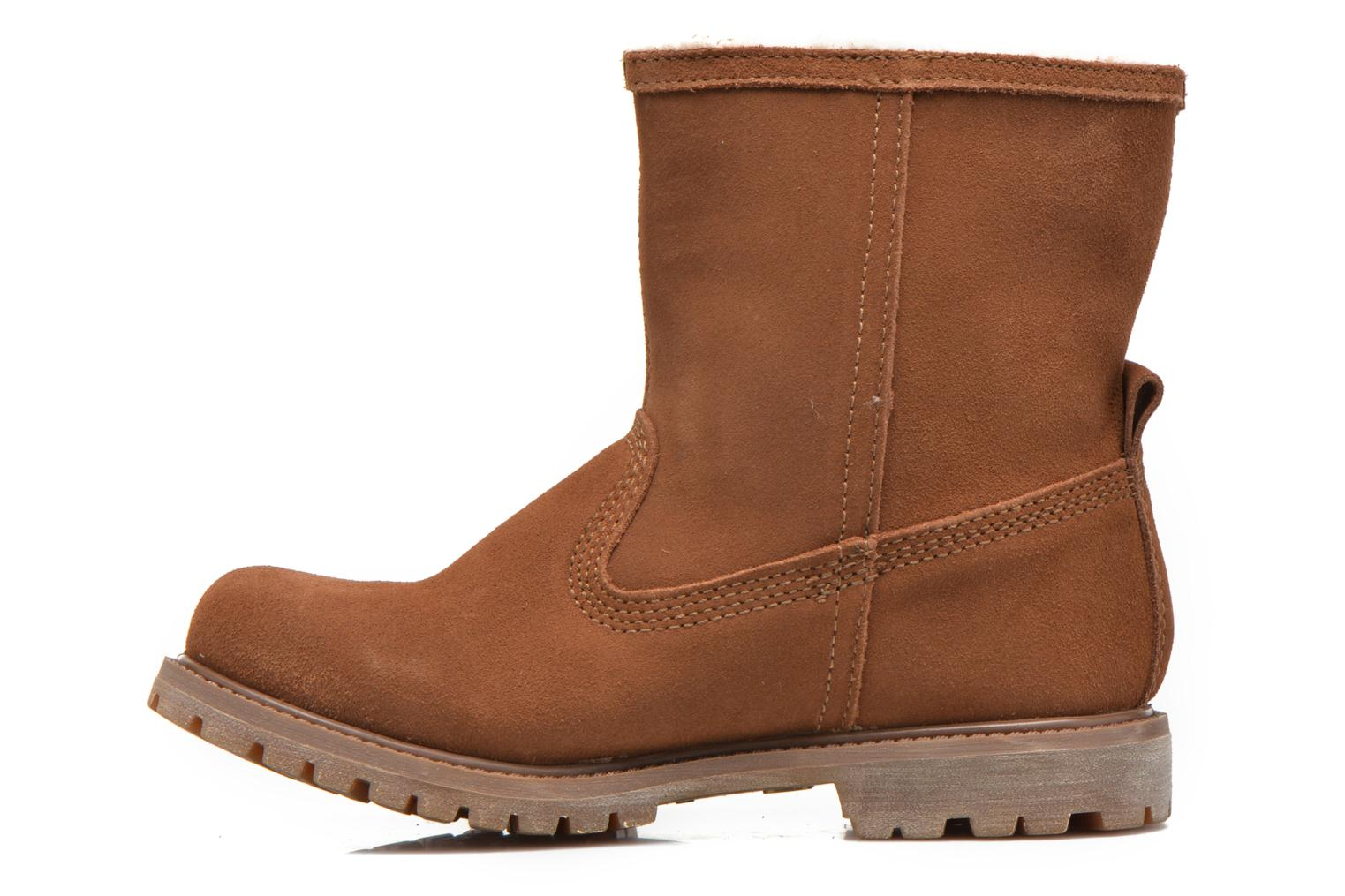 Bottines et boots Timberland Authentics Warm Line Marron vue face