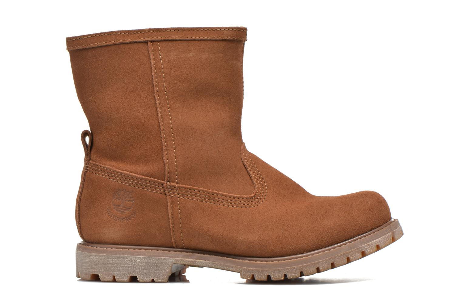 Bottines et boots Timberland Authentics Warm Line Marron vue derrière
