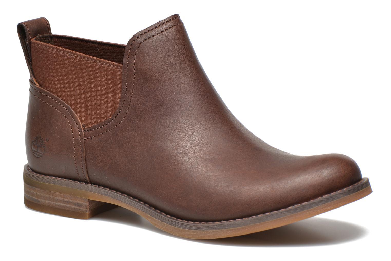 Savin Hill Gore Ankle Boot Dark Brown