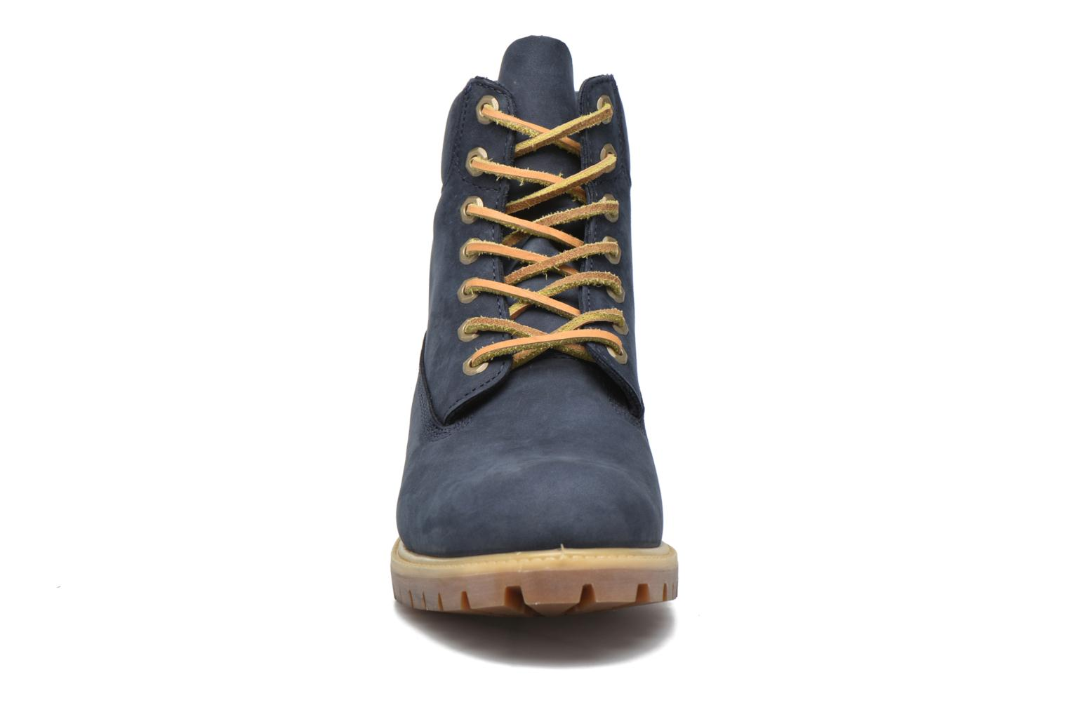 """Ankle boots Timberland 6"""" Premium Boot Blue model view"""