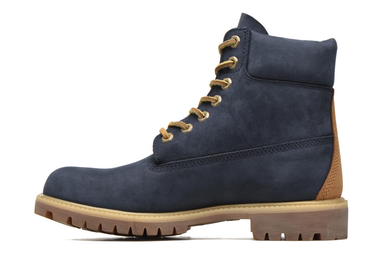 """Stiefeletten & Boots Timberland 6"""" Premium Boot blau ansicht von vorne"""