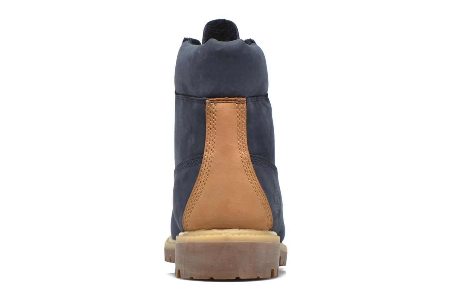 """Ankle boots Timberland 6"""" Premium Boot Blue view from the right"""