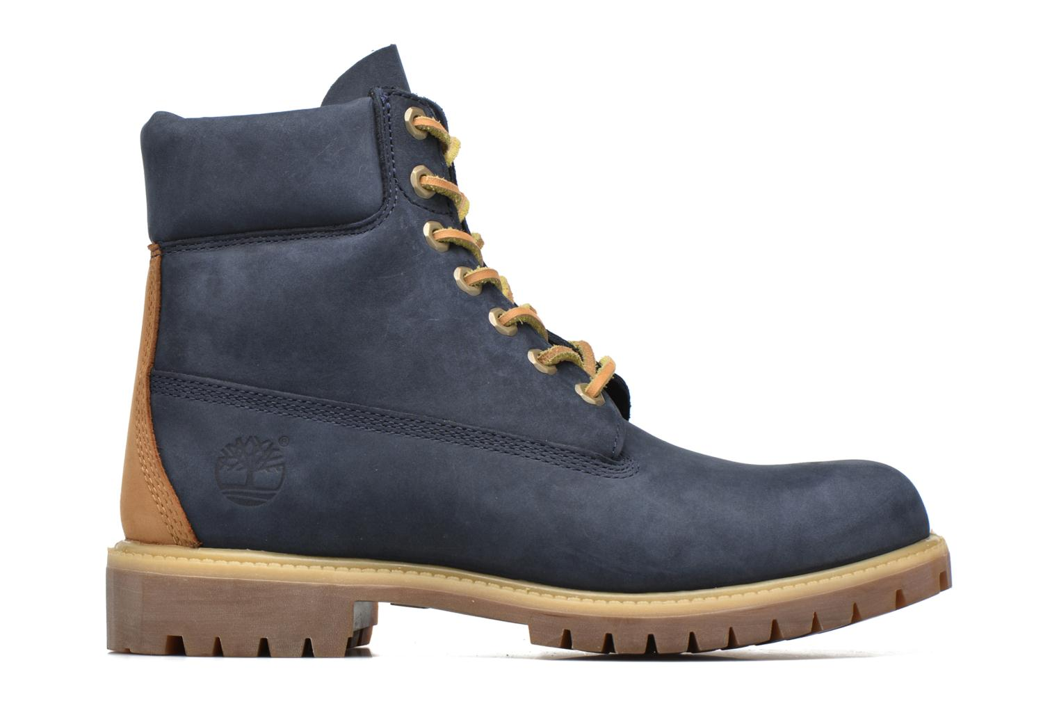 """Ankle boots Timberland 6"""" Premium Boot Blue back view"""