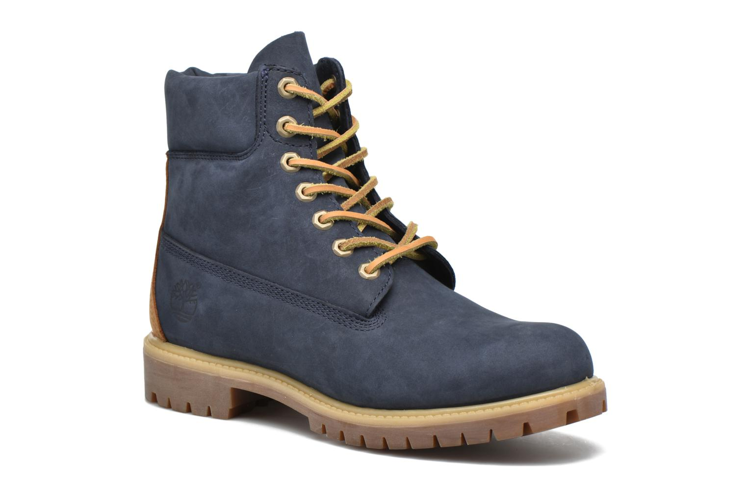 """Ankle boots Timberland 6"""" Premium Boot Blue detailed view/ Pair view"""