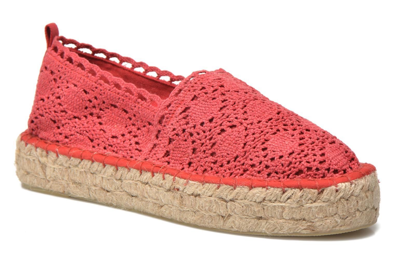 Espadrillos Colors of California Lara 2 Rød detaljeret billede af skoene