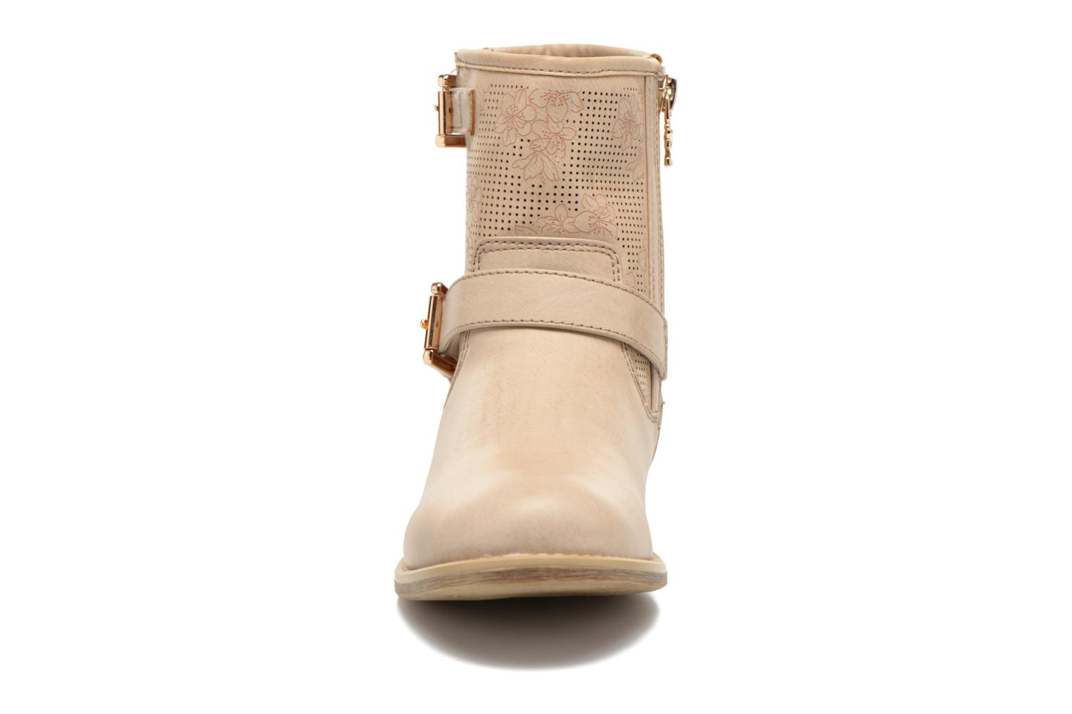 Ankle boots Xti Randy 45017 Beige model view