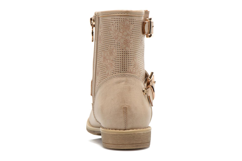 Bottines et boots Xti Randy 45017 Beige vue droite