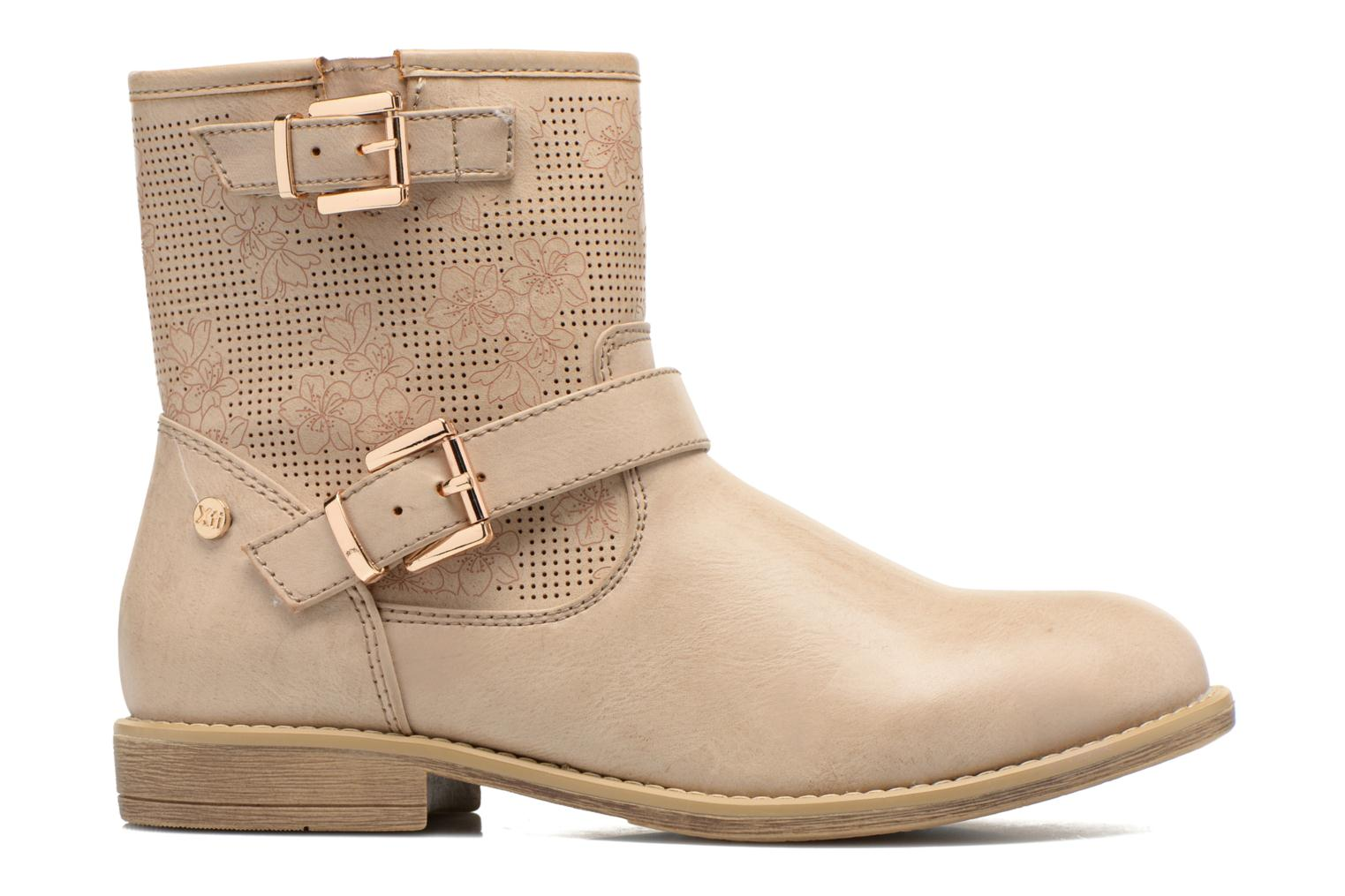 Ankle boots Xti Randy 45017 Beige back view