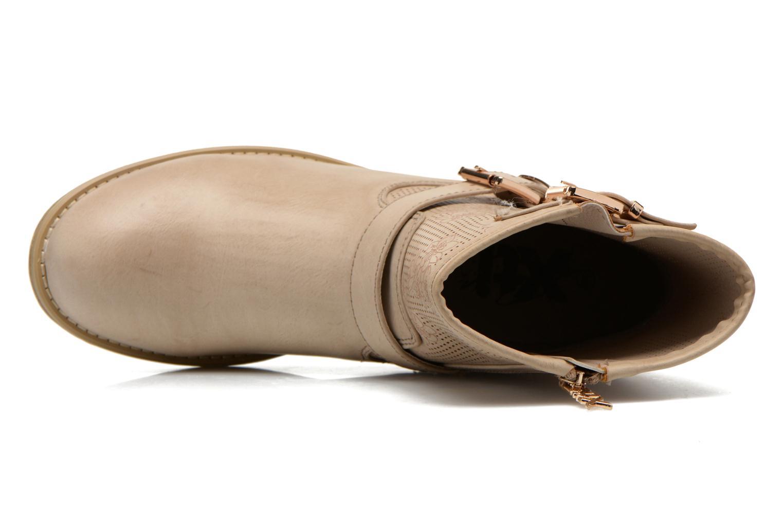 Boots en enkellaarsjes Xti Randy 45017 Beige links
