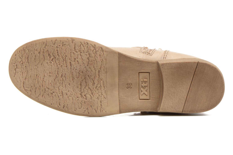 Stiefeletten & Boots Xti Randy 45017 beige ansicht von oben