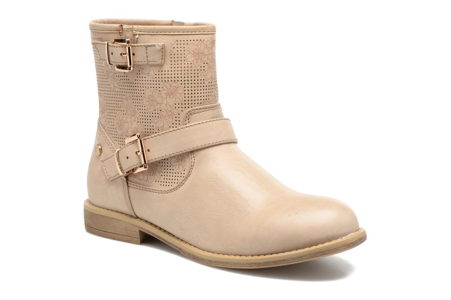 Ankle boots Xti Randy 45017 Beige detailed view/ Pair view