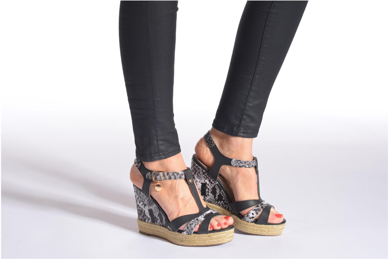 Sandales et nu-pieds Xti Bella 45058 Argent vue bas / vue portée sac