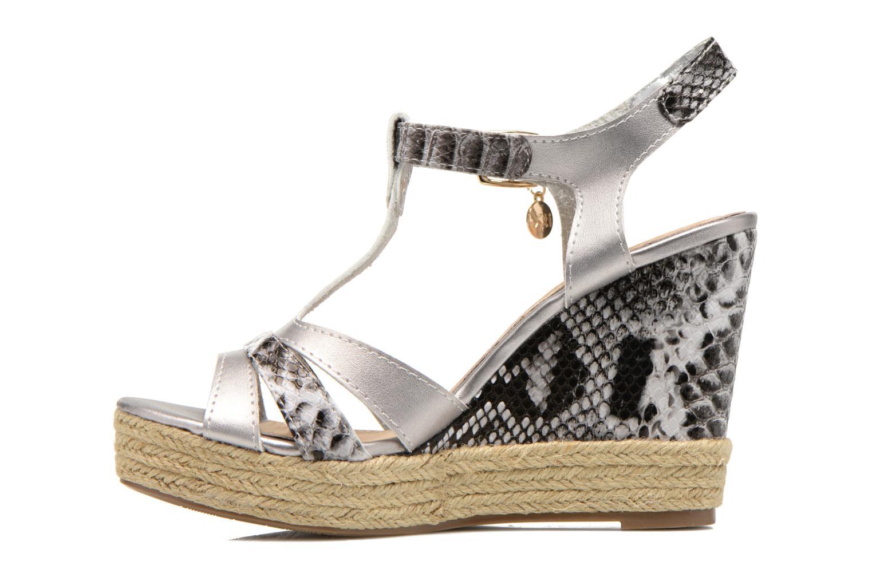 Sandales et nu-pieds Xti Bella 45058 Argent vue face