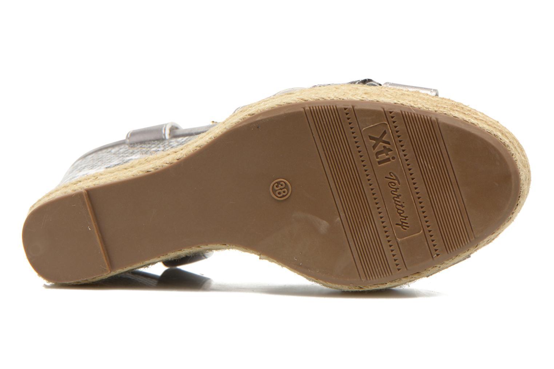 Sandales et nu-pieds Xti Bella 45058 Argent vue haut