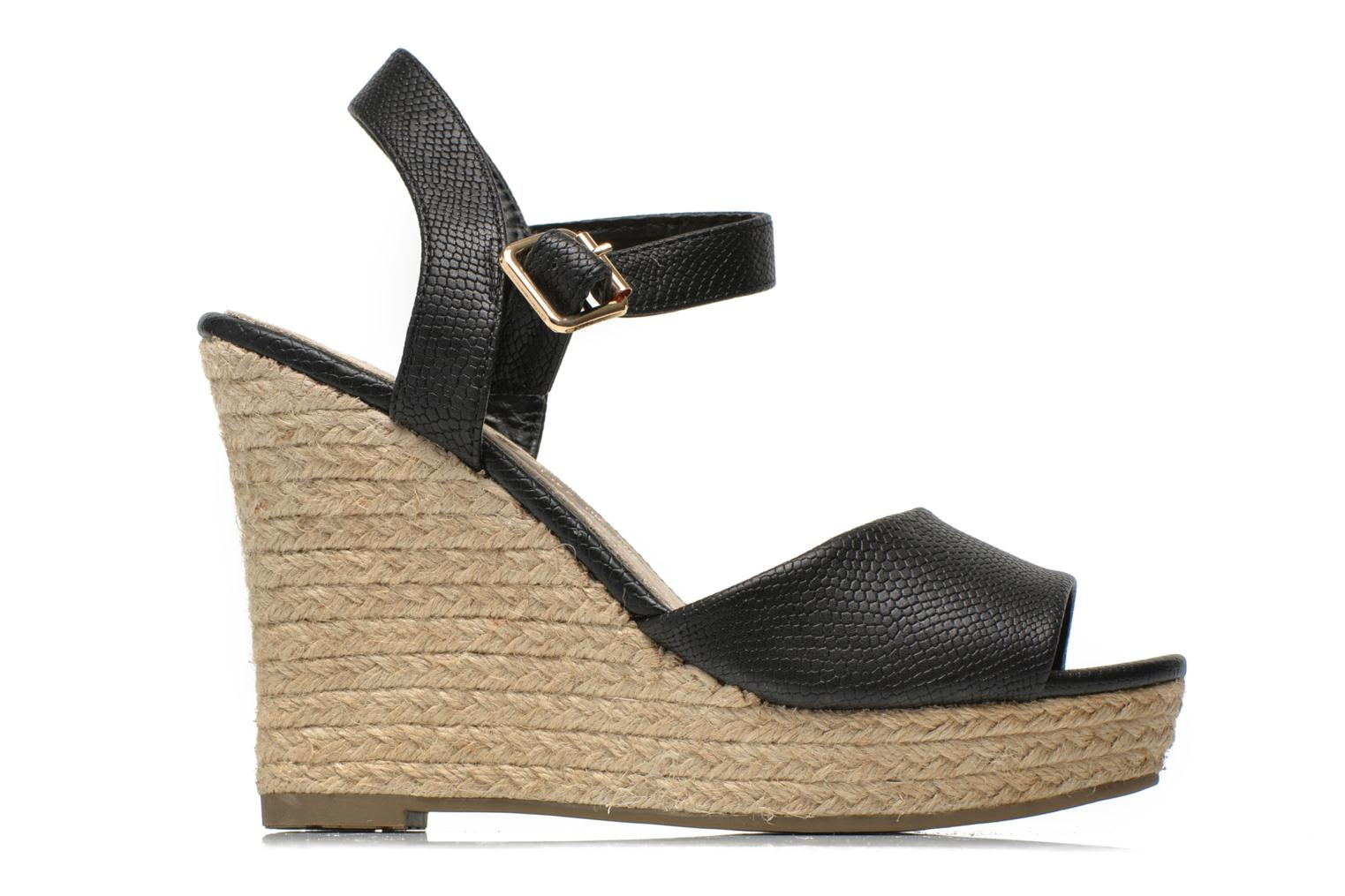Sandals Xti Hobby 45855 Black back view