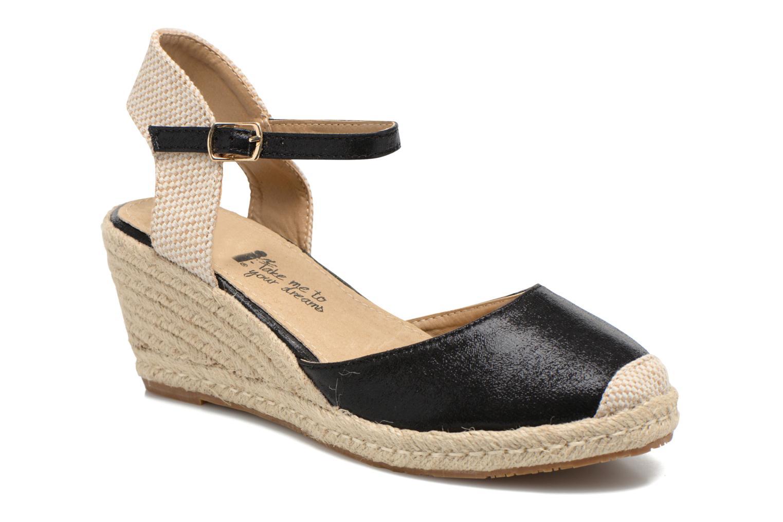 Marques Chaussure femme Xti femme Brownie 45061 Black Metallic