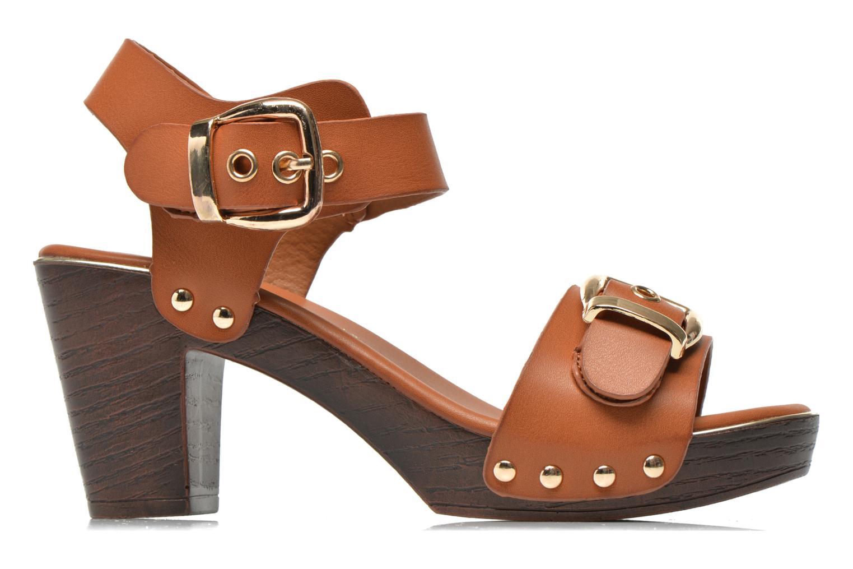 Sandalen Xti Bahia 45900 braun ansicht von hinten