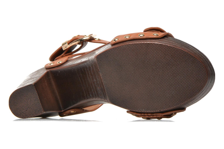 Sandalen Xti Bahia 45900 braun ansicht von oben