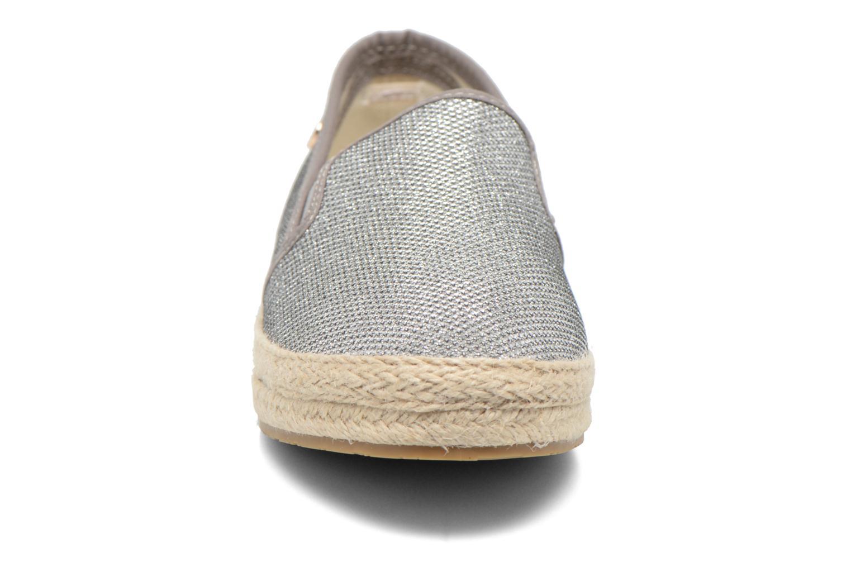 Espadrilles Xti Arianne 45215 silber schuhe getragen