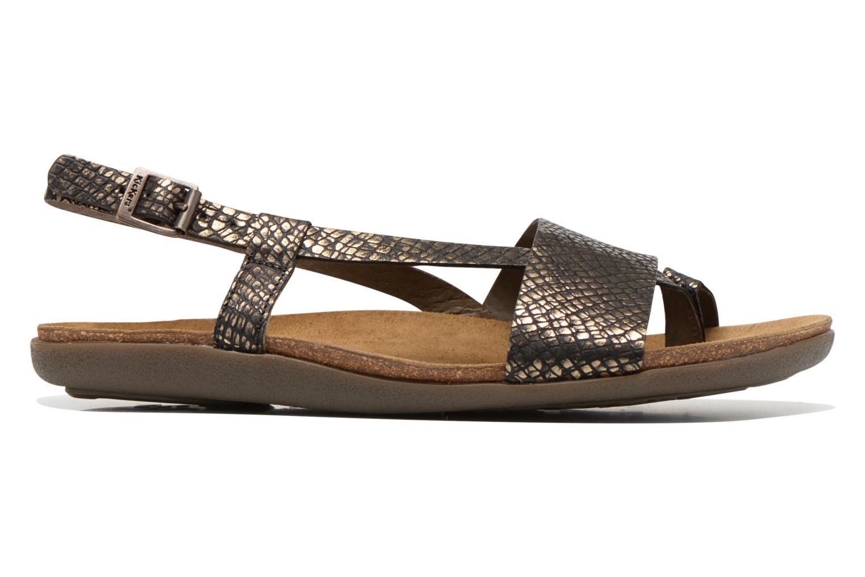 Sandales et nu-pieds Kickers Alchimie Noir vue derrière