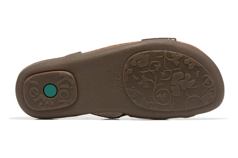 Sandalen Kickers Alchimie Zwart boven