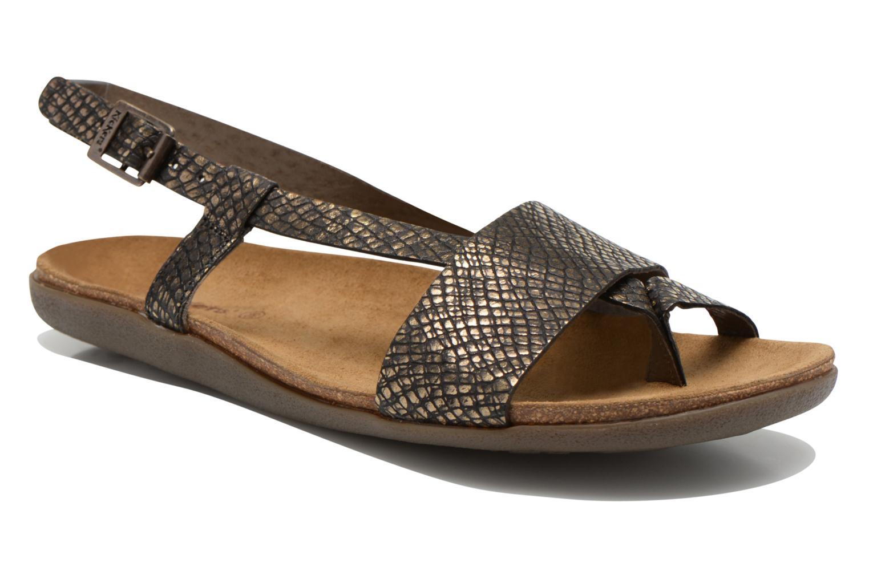 Sandales et nu-pieds Kickers Alchimie Noir vue détail/paire